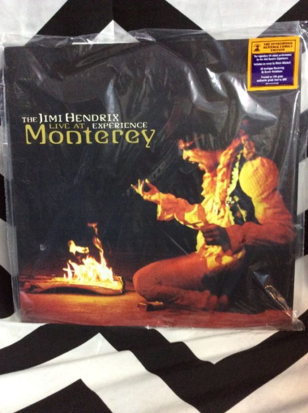 product details: BW JIMI HENDRIX - LIVE AT MONTEREY photo