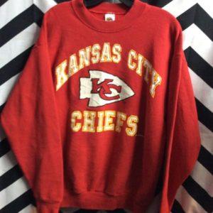 NFL Kansas City Chiefs long sleeved sweatshirt 1