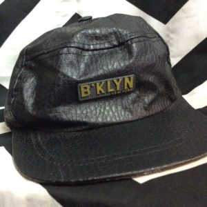 B'KLYN NEW YORK LEATHER CAP 1