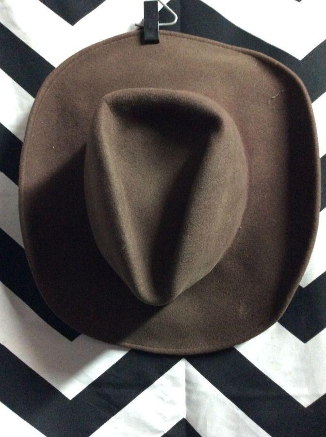cce4fa9fc39f4 RENEGADE PANHANDLE WOOL FELT COWBOY HAT » Boardwalk Vintage