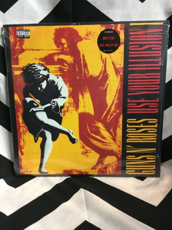 product details: BW VINYL GUNS N ROSES- USE YOUR ILLUSION I photo