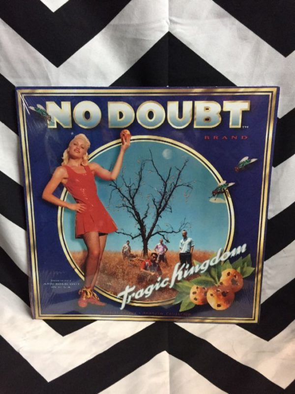 product details: BW VINYL NO DOUBT- TRAGIC KINGDOM photo