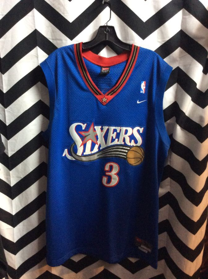 competitive price b68ac f5006 NBA PHILADELPHIA SIXERS JERSEY IVERSON #3