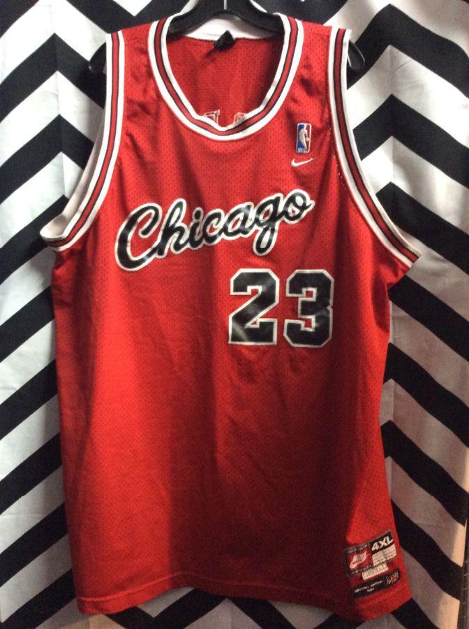 CHICAGO BULLS #23 JORDAN NBA JERSEY