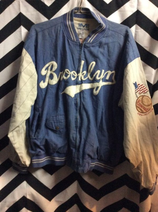 product details: REVERSIBLE COTTON BROOKLYN DODGERS JACKET photo