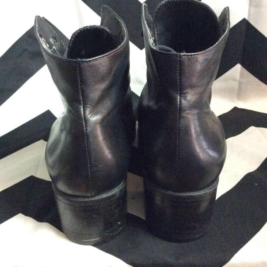 6f0a6a8e8a134 SPA EASY SPIRIT LACE-UP LEATHER BOOTS