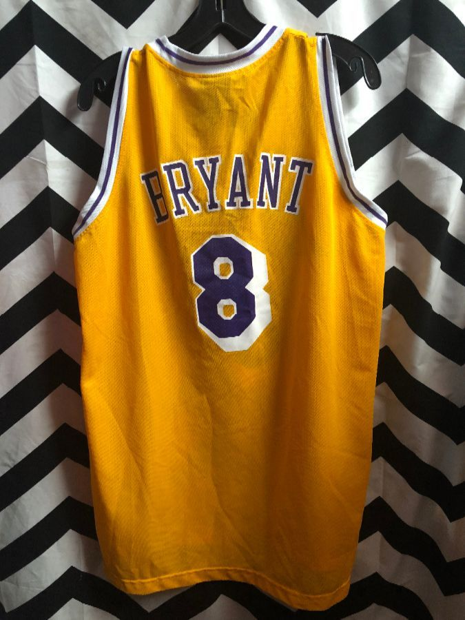 NBA LOS ANGELES LAKERS JERSEY #8 BRYANT
