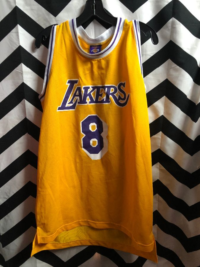 the best attitude f3c76 32eb9 NBA LOS ANGELES LAKERS JERSEY #8 BRYANT