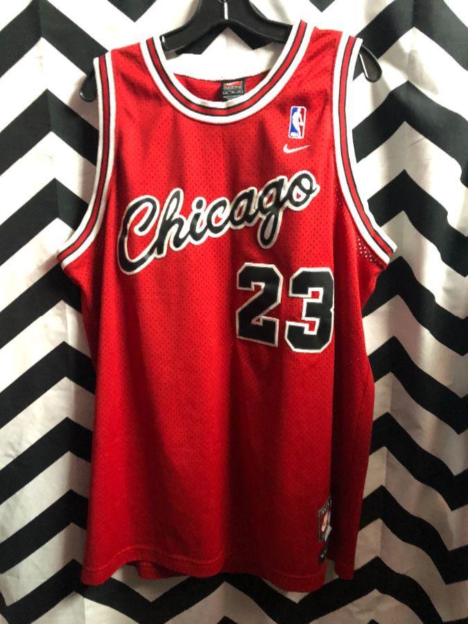 buy online a6362 bc7c7 NIKE CHICAGO BULLS BASKETBALL JERSEY #23 JORDAN