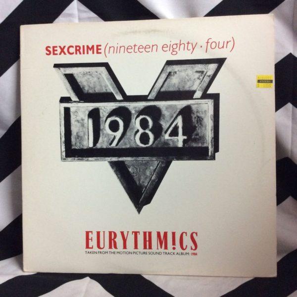 product details: VINYL RECORD - EURYTHMICS - SEXCRIME photo