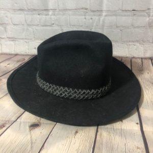 8d9de220d0e RENEGADE COWBOY HAT - WOOL - LEATHER CORD BAND » Boardwalk Vintage