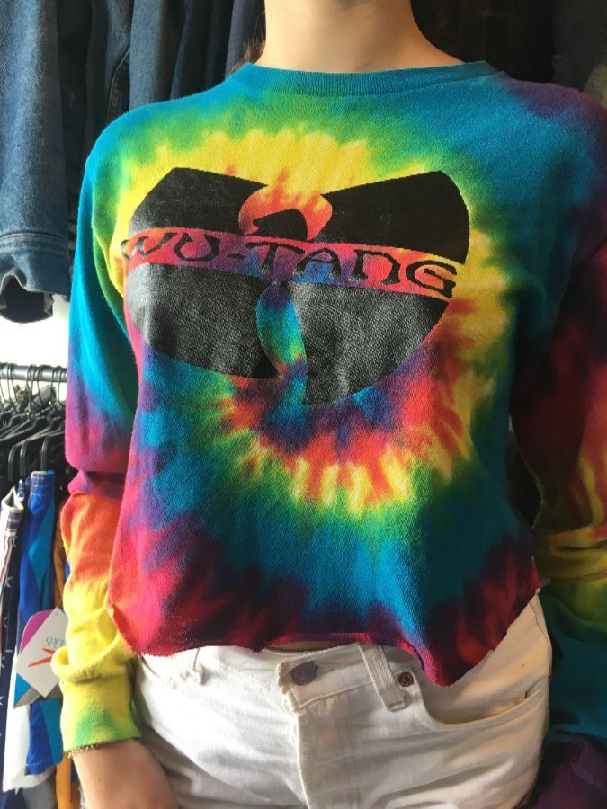 9a51fade2aa WU TANG TIE-DYED T-SHIRT » Boardwalk Vintage