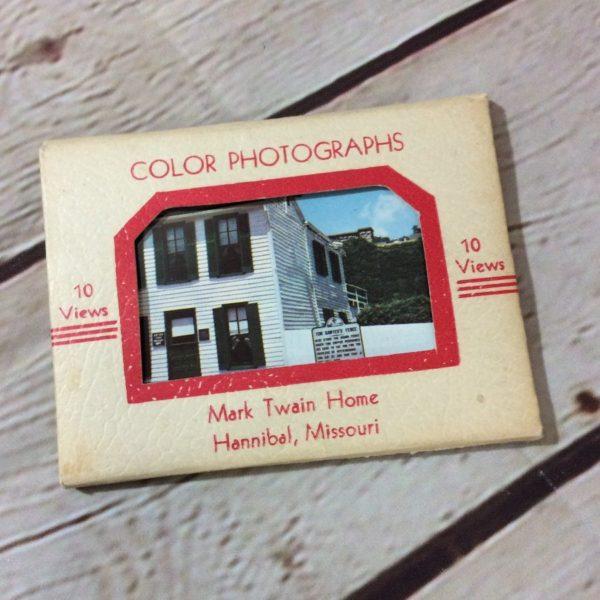 product details: VINTAGE SOUVENIR TRAVEL BOOK - MARK TWAIN HOME photo
