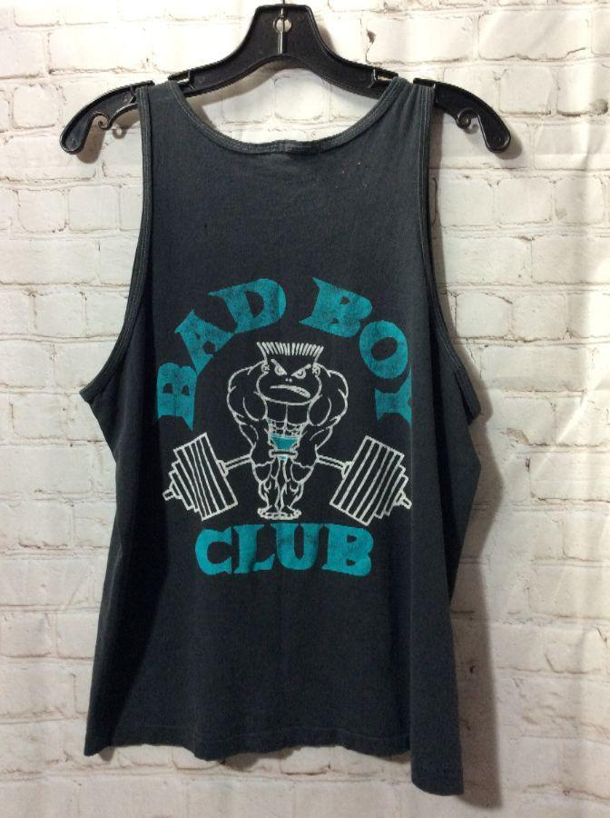 Retro Bad Boy Tank Top Silk Screened Life S A Beach Bad Boy Club