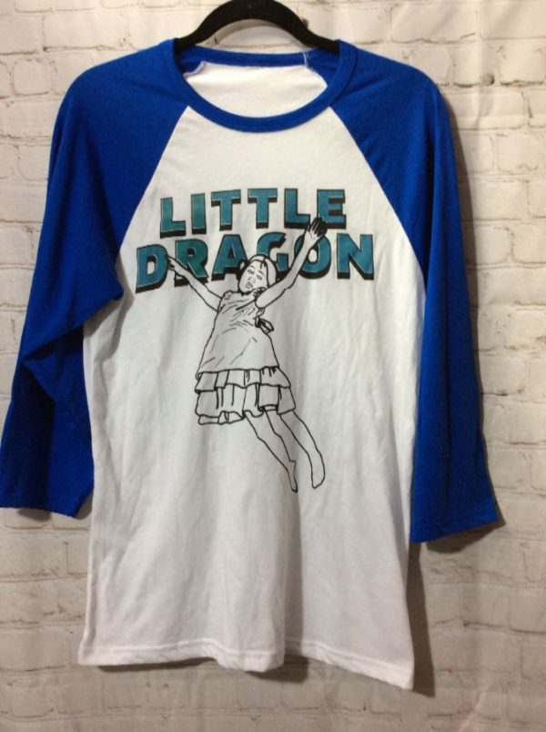 T-SHIRT BASEBALL W/ DRAGON & JUMPING GIRL