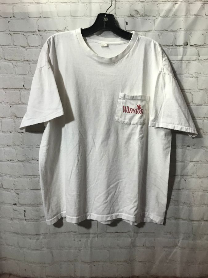 T Shirt Pocket Tee Winston Spirit Of Freedom Boardwalk Vintage