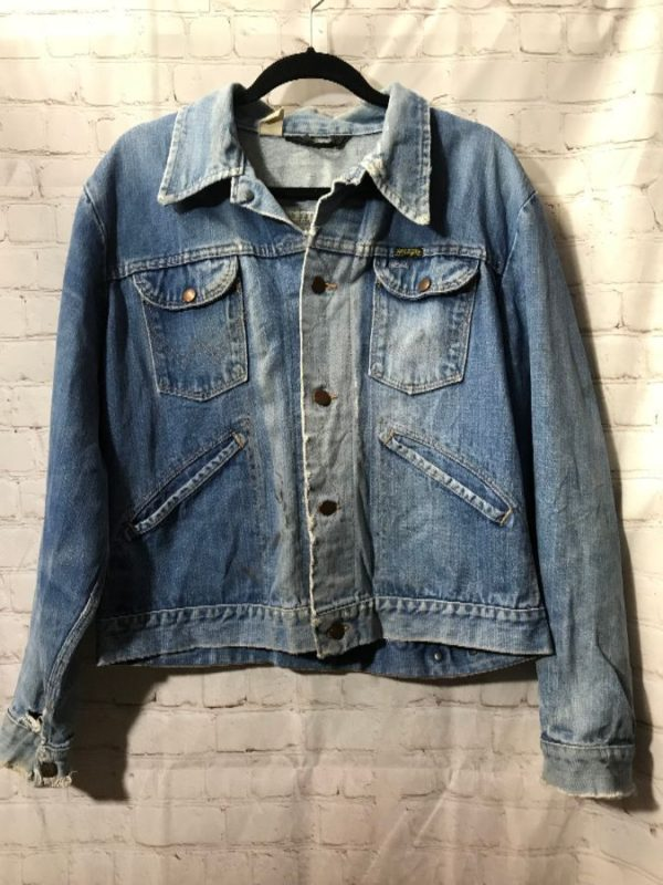 product details: 1970'S CLASSIC WRANGLER DENIM JACKET photo