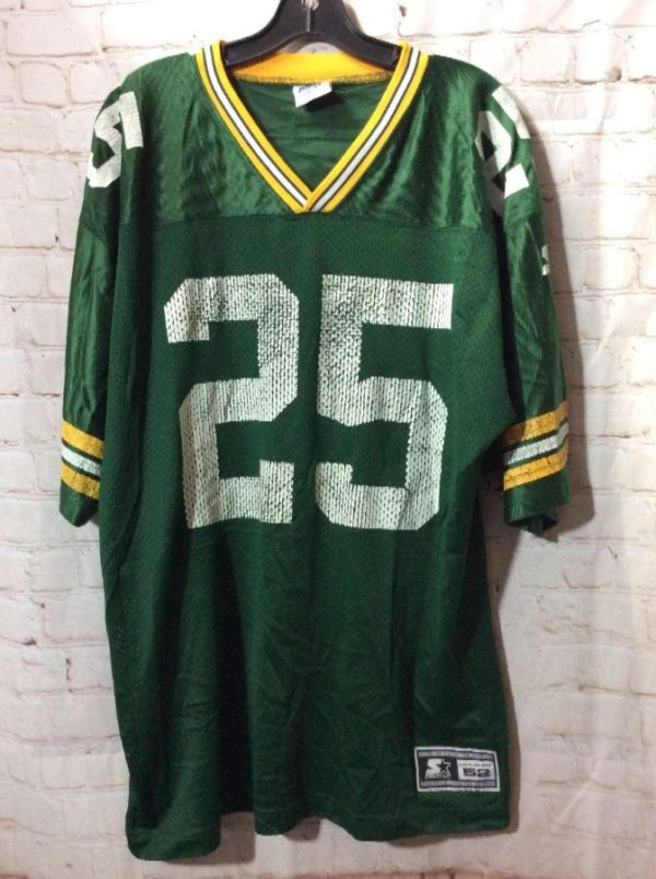 GREEN BAY PACKERS LEVENS #25 FOOTBALL JERSEY