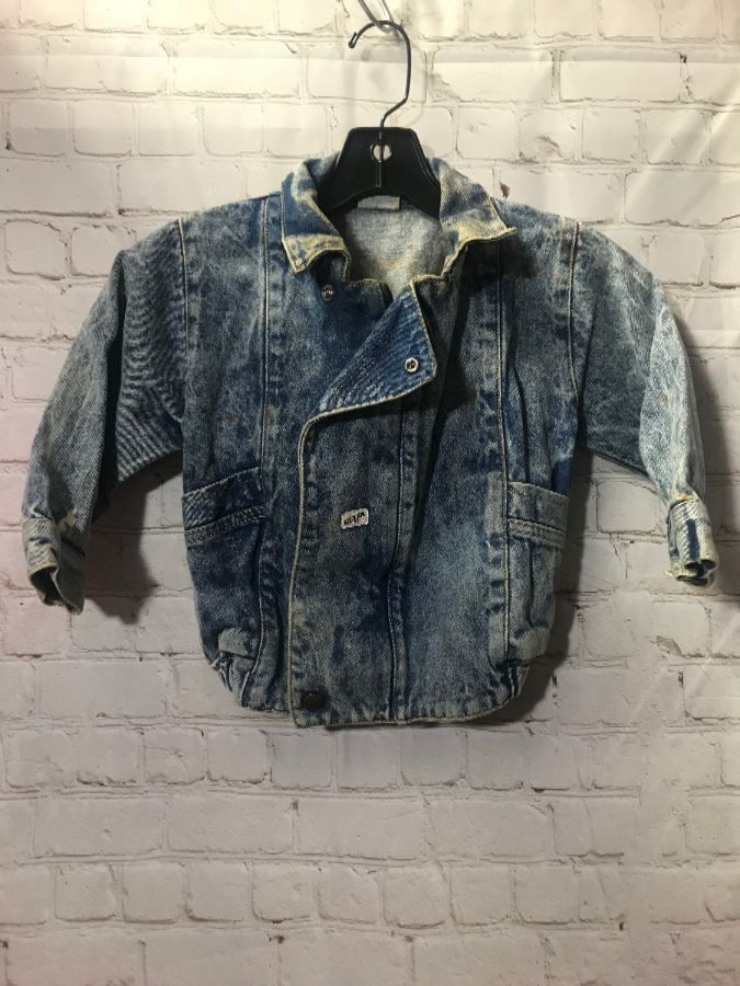 Baby Guess Denim Jacket Acid Wash Boardwalk Vintage