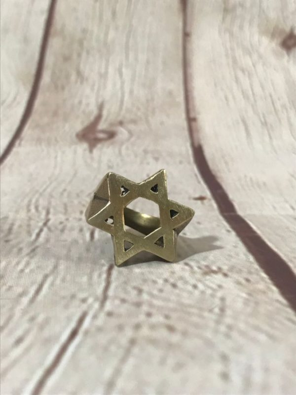 product details: STAR OF DAVID RING photo