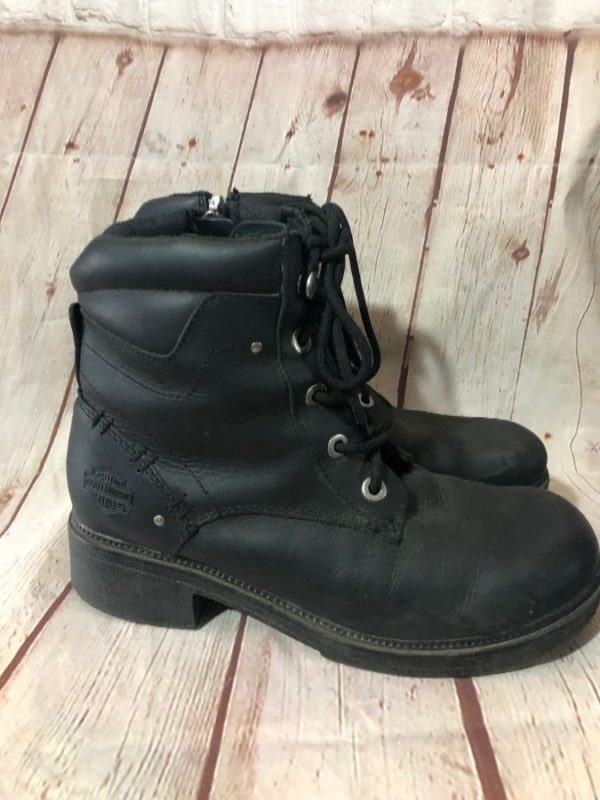 BOOTS HARLEY DAVIDSON ANKLE HIGH LACE-UP