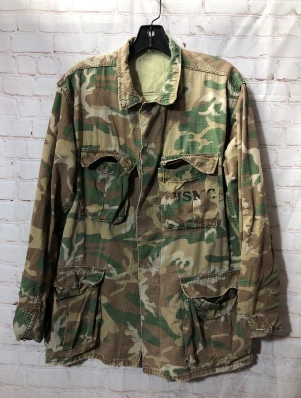 product details: CAMO PRINT MARINE CORP JACKET W/ USMC photo