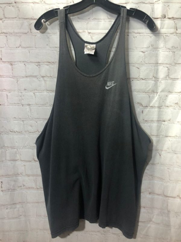 product details: RETRO NIKE TANK TOP - MUSCLE SHIRT - FADED photo