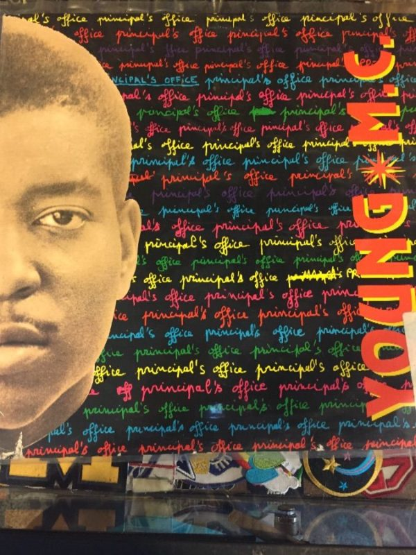 product details: VINYL RECORD - YOUNG MC - PRINCIPLE'S OFFICE photo