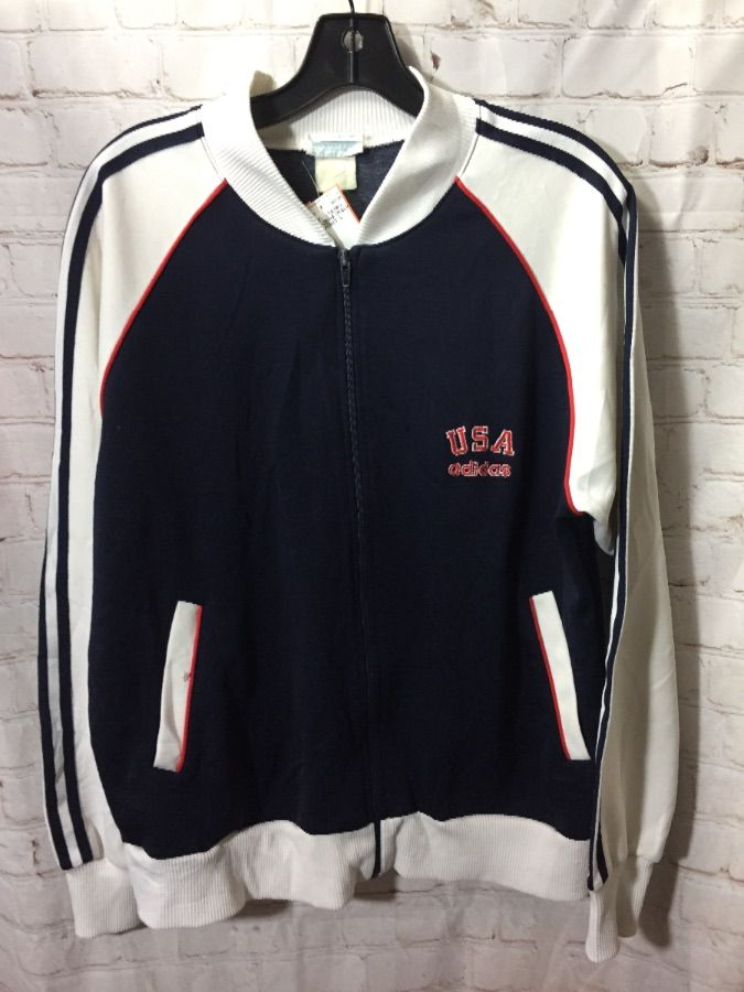 119376f4be26 RETRO USA ADIDAS TRACK JACKET