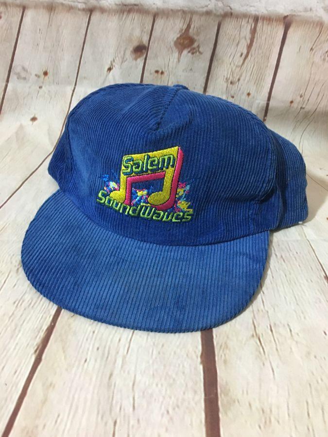e21b15dfeff1c SALEM SOUNDWAVES CORDUROY HAT » Boardwalk Vintage