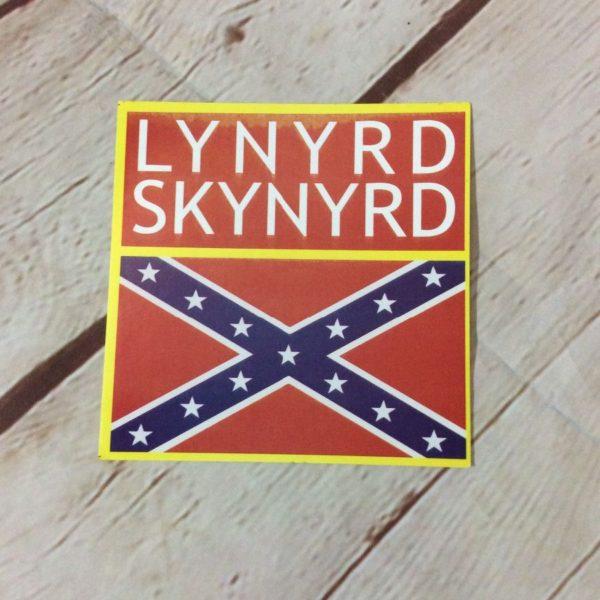 product details: STICKER – LYNYRD SKYNYRD W/CONFEDERATE FLAG photo