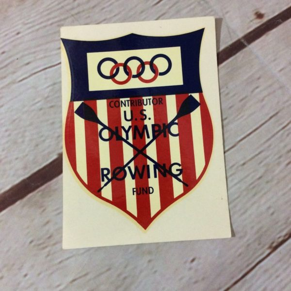 product details: US OLYMPIC ROWING FUND STICKER photo