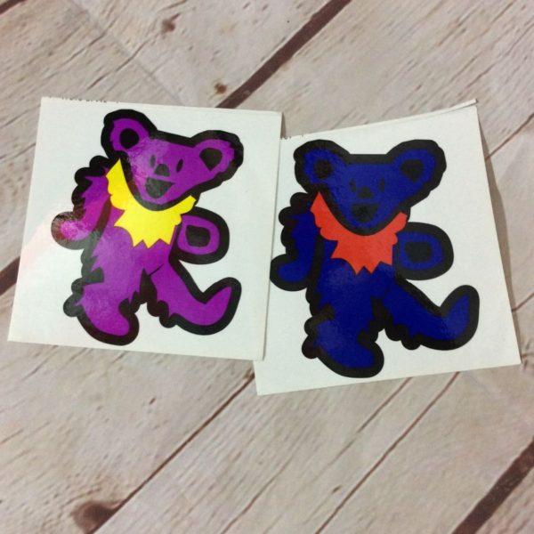 GRATEFUL DEAD DANCING BEAR STICKER – 2 STYLES
