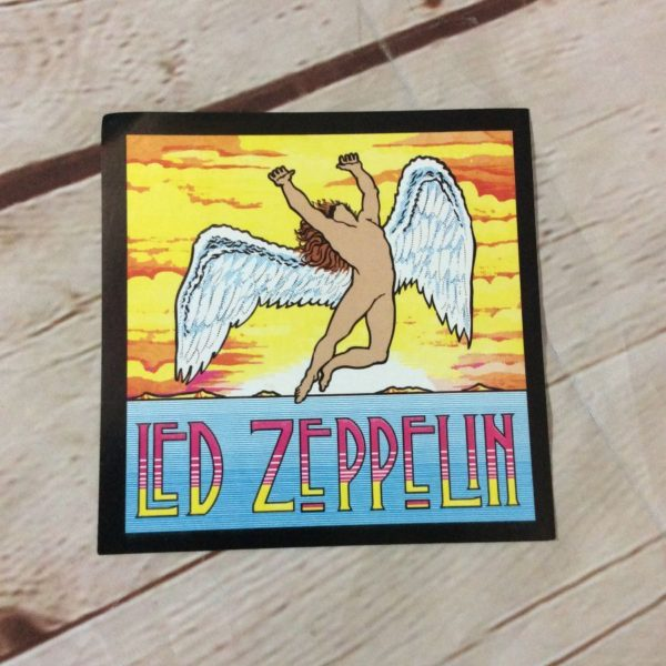 LED ZEPPELIN FLYING ANGEL STICKER