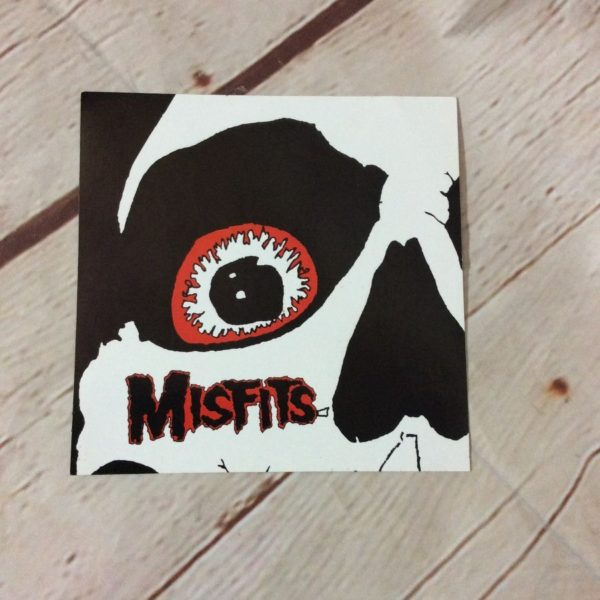 product details: MISFITS RED EYE SKULL STICKER photo