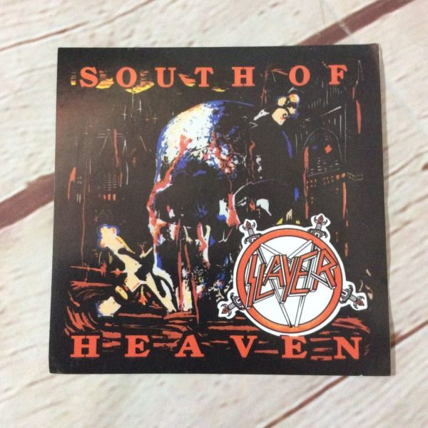 SOUTH OF HEAVEN SLAYER STICKER