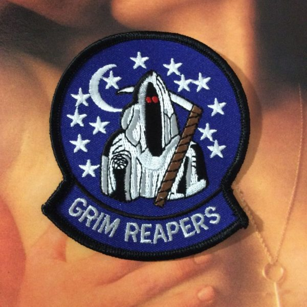 product details: PATCH - GRIM REAPERS W/STARS - IN CRYSTAL BALL photo