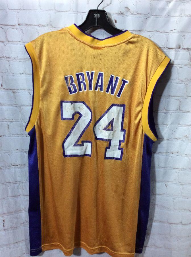 NBA JERSEY LOS ANGELES LAKERS  24 BRYANT » Boardwalk Vintage fd04d6158