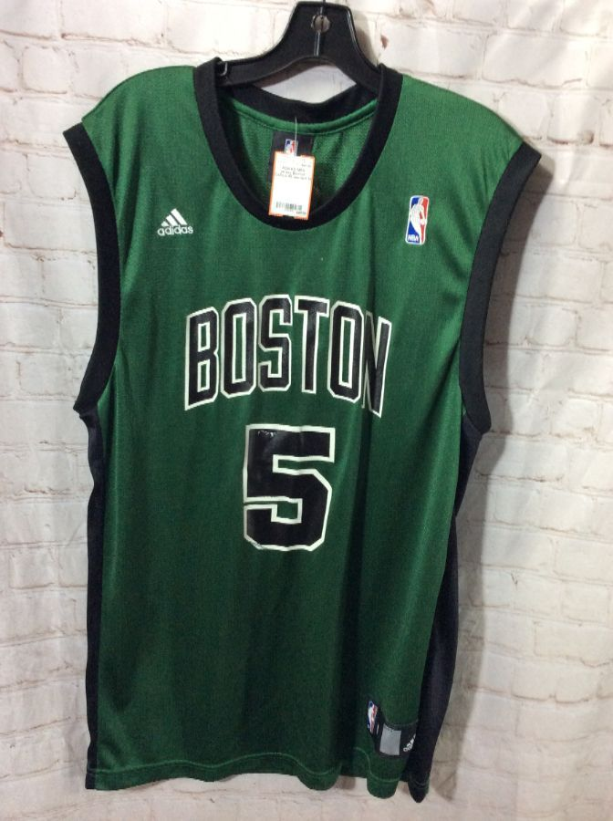 check out 46905 3a607 NBA BASKETBALL JERSEY BOSTON CELTICS #5 GARNETT