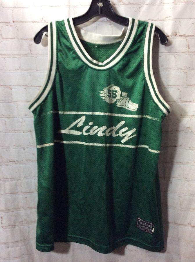 finest selection 73292 bc092 RETRO BASKETBALL JERSEY LINDY ACTIVE #55