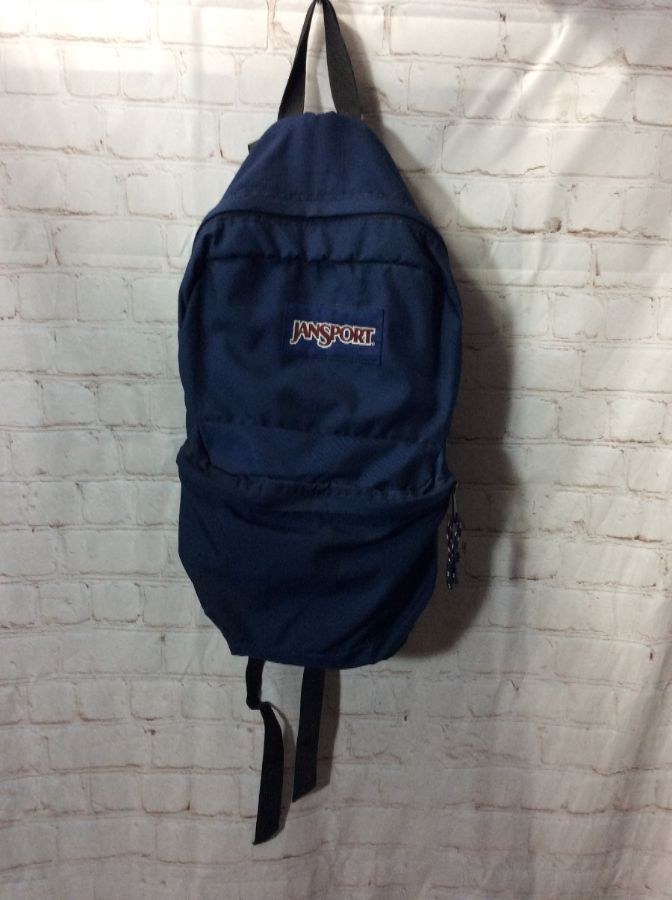 JANSPORT BACKPACK W/ ZIPPERED COMPARTMENTS