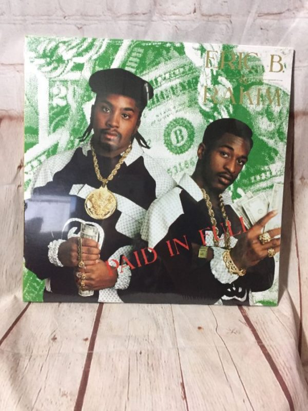 product details: VINYL RECORD ERIC B AND RAKIM - PAID IN FULL photo
