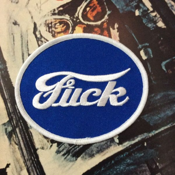 product details: BW PATCH- FUCK/FORD LOGO photo
