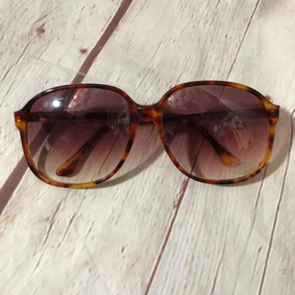 1970'S BIG FRAME UV SUNSET SUNGLASSES