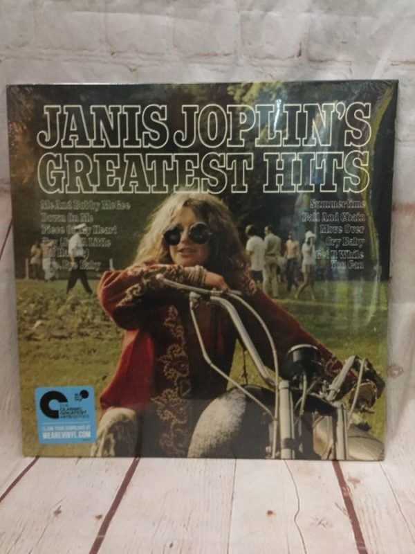 product details: VINYL RECORD JANIS JOPLIN - JANIS JOPLIN photo