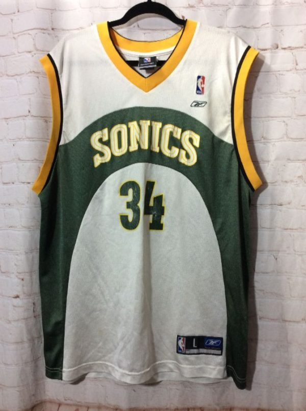 NBA SEATTLE SUPERSONICS #34 ALLEN BASKETBALL JERSEY