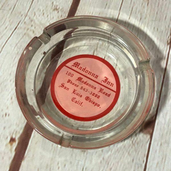 product details: MADONNA INN GLASS ASHTRAY photo