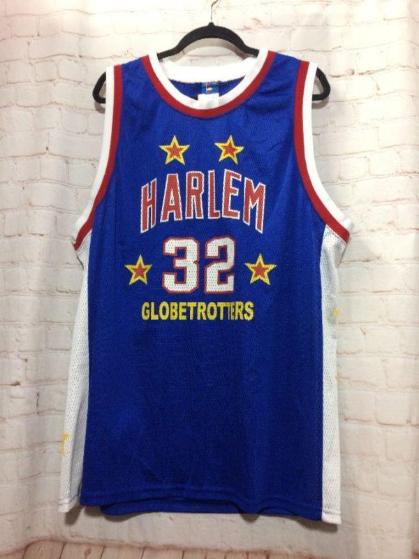 HARLEM GLOBETROTTERS #32 BASKETBALL JERSEY