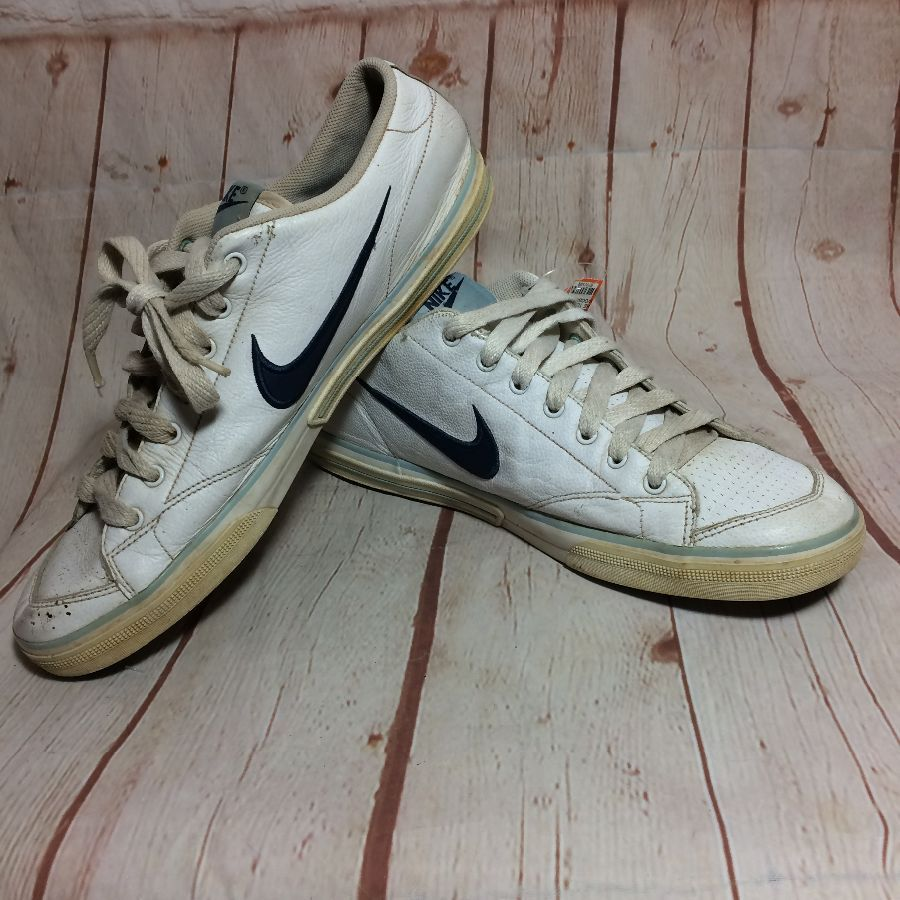 SIDES NIKE SHOES TENNIS SWOOSH RETRO LEATHER ON UVSzqMp