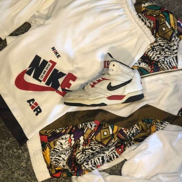 product details: OLD SCHOOL HIGH TOP NIKE SNEAKERS photo
